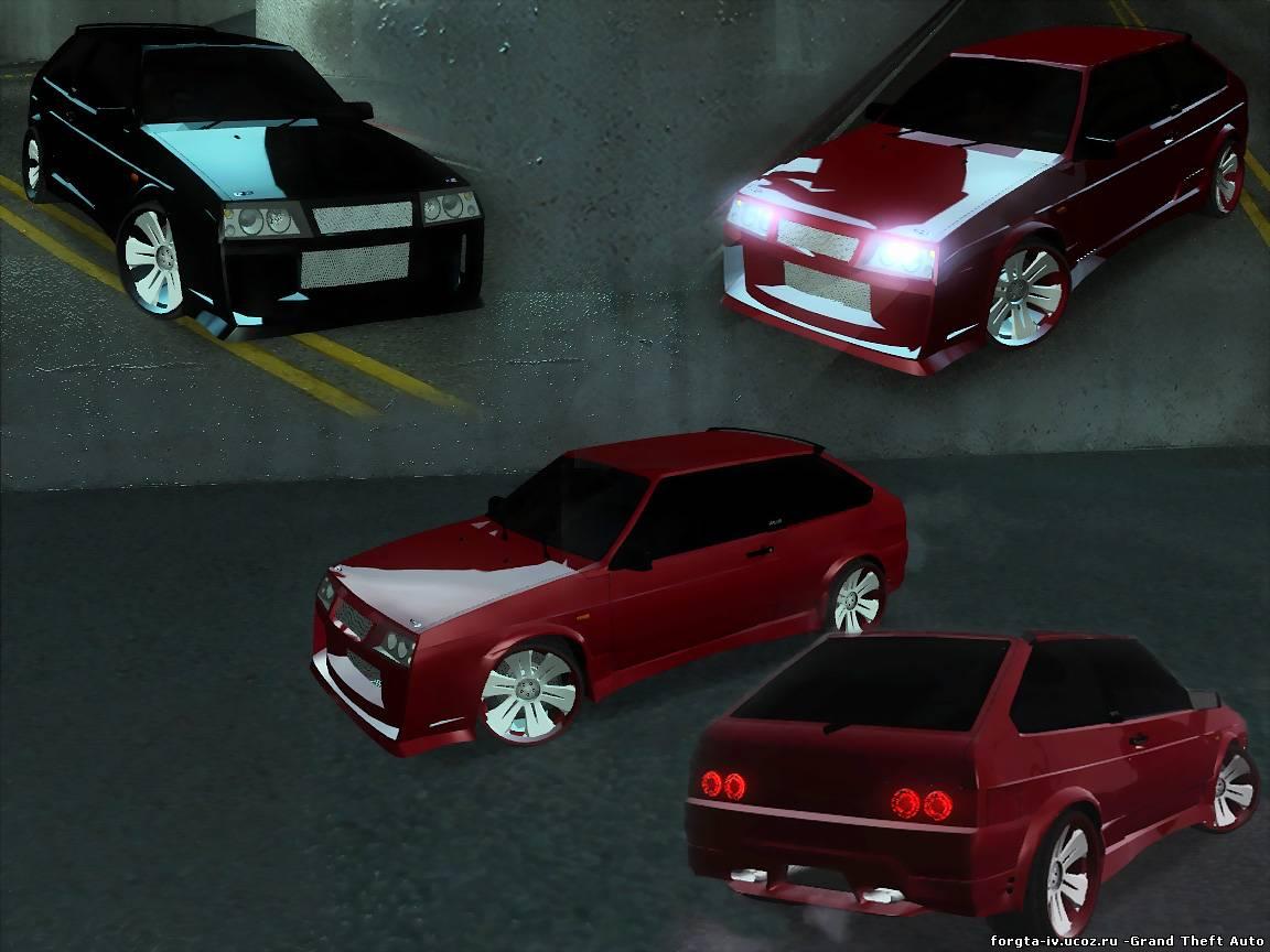 Блестящие Машины Для Gta San Andreas